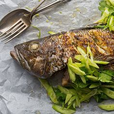 Perfect your grilled whole fish with the TT Culinary Institute!