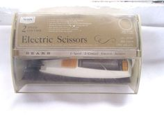 Vintage Sears Electric Scissors 2 Speed 2 Controls #Sears