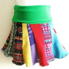 SALE THREE Child Sized Sweater Skirts Grab por handmadepretties