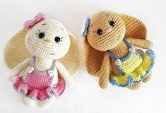 Crochet bunnies amigurumi pattern