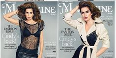Cindy Crawford's New Smokin' Hot Magazine Covers