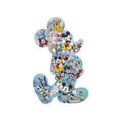 $59.96  Disney Mickey Mouse 500 Piece SHAPED PUZZLE