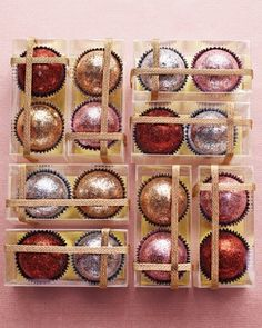 Chocolate Bonbons - Sparkling Wedding Ideas