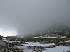 Na poti proti vrhu Grintovca