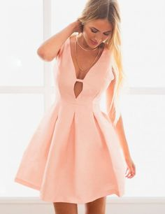 Women's Sexy Best Shift Hot Neoprene Dress