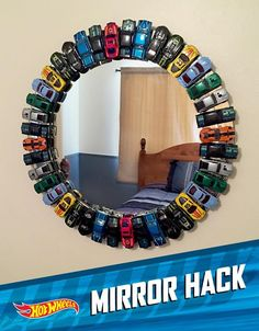 Awesome use of hot wheels