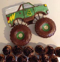Monster Truck Birthday Cake!!