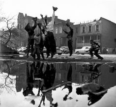 "Art I Love: Gordon Parks ""Ghetto Neighborhood, Chicago, IL"" 1953 