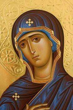 Why Mary Is the Most Important Human Figure in Christianity - The Catalog of Good Deeds Byzantine Icons, Byzantine Art, Religious Icons, Religious Art, Russian Icons, Orthodox Christianity, Art Thou, Madonna And Child, Catholic Art