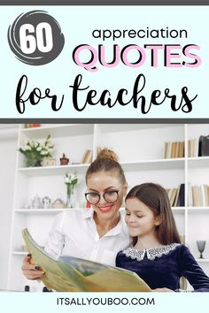It's back to school! Looking for inspirational thank you quotes for teachers? Click here for 60 teacher's appreciation quotes and sayings, perfect for cards from kids or parents. . . . . #TeachersDay #TeachersDay2019 #HappyTeacherDay #Teachers #BacktoSchool #TeachersWeek #Classroom #ThankYouQuotes #Appreciation #TeachersGifts #ThankYouTeacher #TeacherGiftIdeas #BackToSchool #TeacherGift #BestTeacher #QuotesToLiveBy #QuotesToRemember #InspirationalQuotes