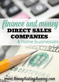 List of direct sales companies that focus on finances, business growth and ownership and managing mo Cash From Home, Earn Money From Home, Direct Sales Organization, Home Party Business, Business Ideas, Finance Degree, Internet Jobs, Direct Sales Companies, Network Marketing Tips