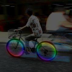 Line Wheel Light Multicolor
