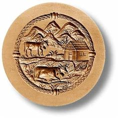 Maiensäss (Mountain Pasture) Springerie cookie mold $125