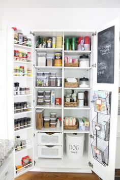 Eclectic Home Tour - The Picket Fence Projects Diy Storage Pantry, Pantry Organization, Kitchen Storage, Organized Pantry, Organizing, Kitchen Pantry Design, Kitchen Reno, New Kitchen, Kitchen Remodel