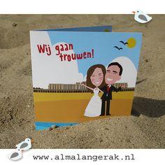 Het is alweer bijna twee maanden geleden dat Sarah en Jan gingen trouwen in Oostende .  Op deze #trouwkaarten Thermae Palace in Oostende en de #zee het #strand en wat zeemeeuwen.   Jan en Sarah als jullie dit lezen hopelijk was het een prachtige dag!  #oostende #thermae #palace #trouwkaarten #zee #strand #hotel