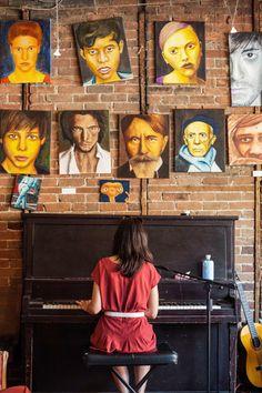 Depaneur cafe artist practice Mile End Montreal