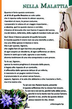 Pregando nella malattia - PAOLINE.it