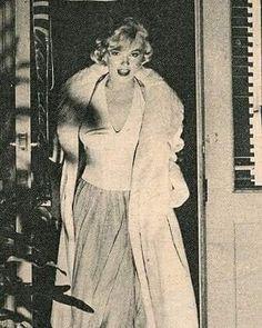 Marilyn, Let's Make Love press conference, 1960.