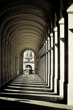 Solid-Faced Canvas Print Wall Art Print entitled Arches of Grand Theatre de Bordeaux, France Canvas Wall Art, Wall Art Prints, Poster Prints, Canvas Prints, Covered Walkway, Corridor Design, Urban Design Plan, Id Photo, Fable