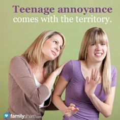 How to annoy your teenager