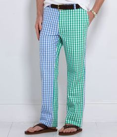 Vinyard Vines is make wine drinking look bad with these Gingham Party Pants! Arrrrg!