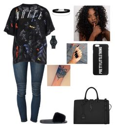 """""""Untitled #603"""" by princessdymin ❤ liked on Polyvore featuring Koral, Off-White, Givenchy, Miss Selfridge, Movado and Yves Saint Laurent"""