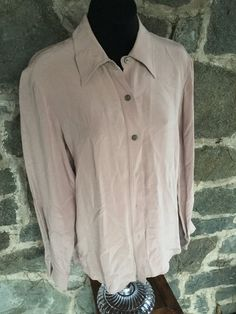 Thick Silk Vintage Shirt Size 8 by brooklynscavenger on Etsy