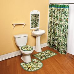 Bird Bathroom Collection   TerrysVillage.com