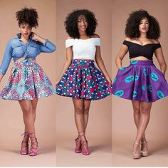 Ankara Jumpsuits Ideas - Jos Kitchen Fashion - Women's style: Patterns of sustainability African Fashion Skirts, African Inspired Fashion, African Print Fashion, Africa Fashion, African Print Skirt, African Print Dresses, African Dress, African Prints, African Clothes