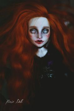 MonstrousLab on Etsy Custom Monster High Dolls, Custom Dolls, Misfit Toys, Vampire Queen, Gothic Dolls, The Day Will Come, Horror, Halloween Face Makeup, Dark Mind