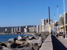 Viña Del Mar, Chile End Of The World, South America, San Francisco Skyline, Places Ive Been, New York Skyline, Beautiful Places, Scenery, Places To Visit, To Go
