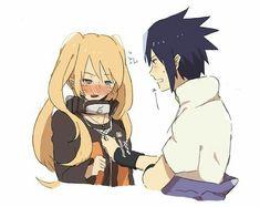 Naruto And Sasuke Kiss, Naruto Shippuden Characters, Naruto Fan Art, Naruto Comic, Naruto Funny, Naruto Girls, Shikamaru, Naruto Shippuden Anime, Anime Naruto