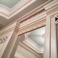 Handmade wooden panel with mirror Nomidis Luxury Furniture