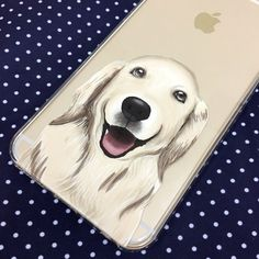 iPhone 7 case Golden Retriever iPhone 6S case Clear 7 Plus case Dog iPhone SE case Samsung Note 7 case Samsung Galaxy S7 Edge case S7 case