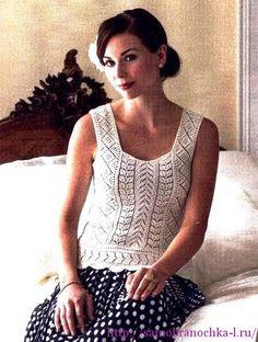 Ажурная блузка HIDDEN DELIGHT от Karen E. Hooton