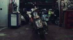 Video - Butcher Garage #Vespa