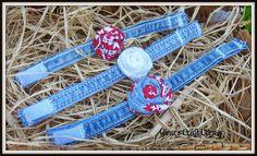 Upcycled Blue Jeans into Bracelets