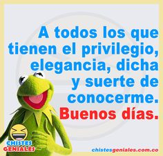 Good Night Wishes, Good Morning Messages, Good Morning Good Night, Funny Spanish Jokes, Spanish Humor, Hello In Spanish, Good Morning Inspiration, Good Day Quotes, Funny Phrases