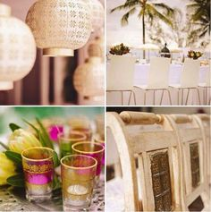 Trending: Ethnic accents on decor #Ethnic #Details #WeddingTrends