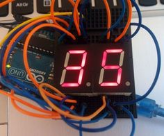 Arduino simple 7 segment countdown timer