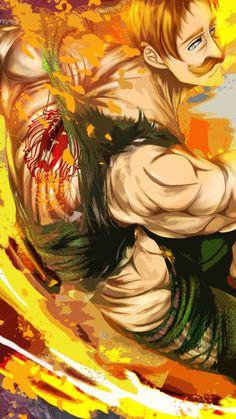 Seven Deadly Sins Anime, 7 Deadly Sins, Wallpaper Naruto Shippuden, Naruto Shippuden Sasuke, Naruto Kakashi, Naruto Cute, Anime Naruto, Lord Escanor, Anime Gifs