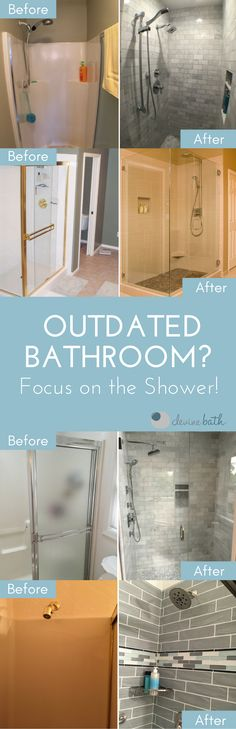 If you want to give your bathroom a fresh, new look but don't have the budget for an entire remodel, consider just remodeling your shower.