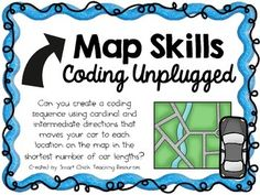 This coding unplugged activity is one of many that I am creating to use in my STEM classroom!  We do these coding challenges about once a week.  They are great for teaching sequencing and logical reasoning to students.  There are no right or wrong answers, and many different solutions will work!