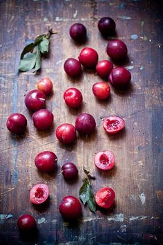 grayskymorning: Tiny Plums by tartelette on Flickr. Real food inspires and nourishes us.