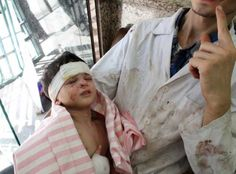 Syrian kids 'badly traumatised...Bashar MUST BE STOPPED!!!!!!!...Ameen...
