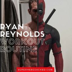 Ryan reynolds deadpool workout Workout routine Superhero workout Celebrity workout Celebrity workout routine Workout Ryan Reynolds Deadpool Workout Routine How to get ripped like Deadpool and Muscle Fitness, Mens Fitness, Fitness Tips, Workout Fitness, Workout Men, Muscle Men, Health Fitness, Ryan Reynolds Deadpool Workout, Bodybuilder