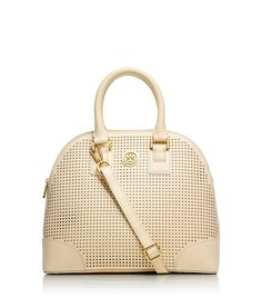 ROBINSON PERFORATED SMALL DOME SATCHEL
