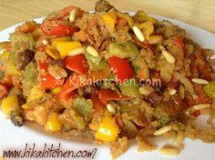 Peperoni con la mollica (ricetta siciliana)