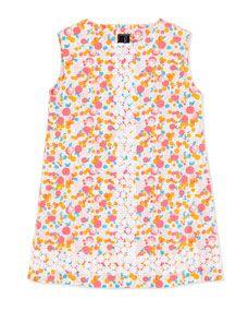 Oscar de la Renta Cascais Floral-Print Shift Dress