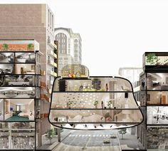 'Heart of the District' Competition Entry / ZA Architects
